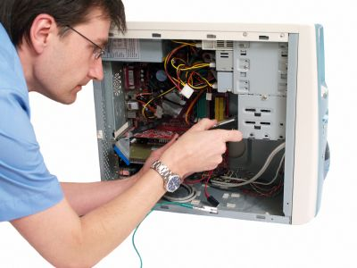 Desktop PC servicing