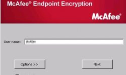 mcafee endpoint encryption hard drive recovery